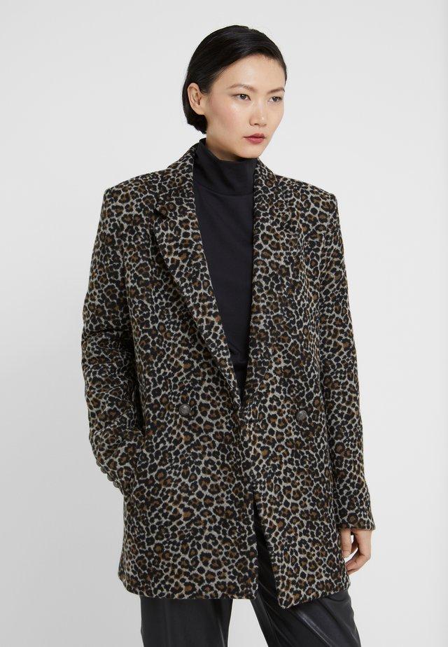 SHADOW - Classic coat - brown