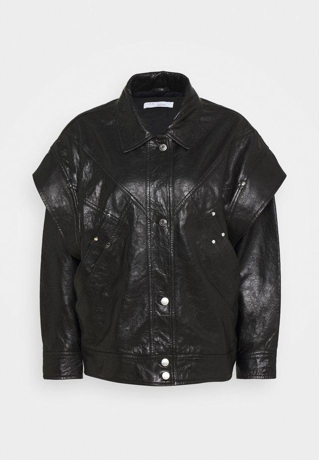 MALASPY - Læderjakker - black