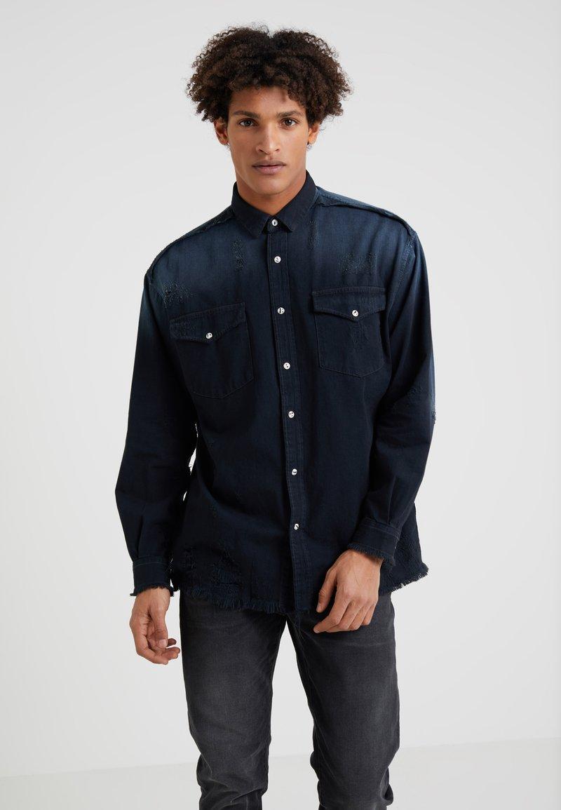 Iro - INSIGHT - Shirt - grey/blue