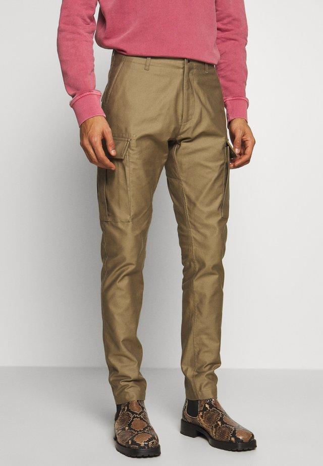 MANZAREK - Cargo trousers - khaki