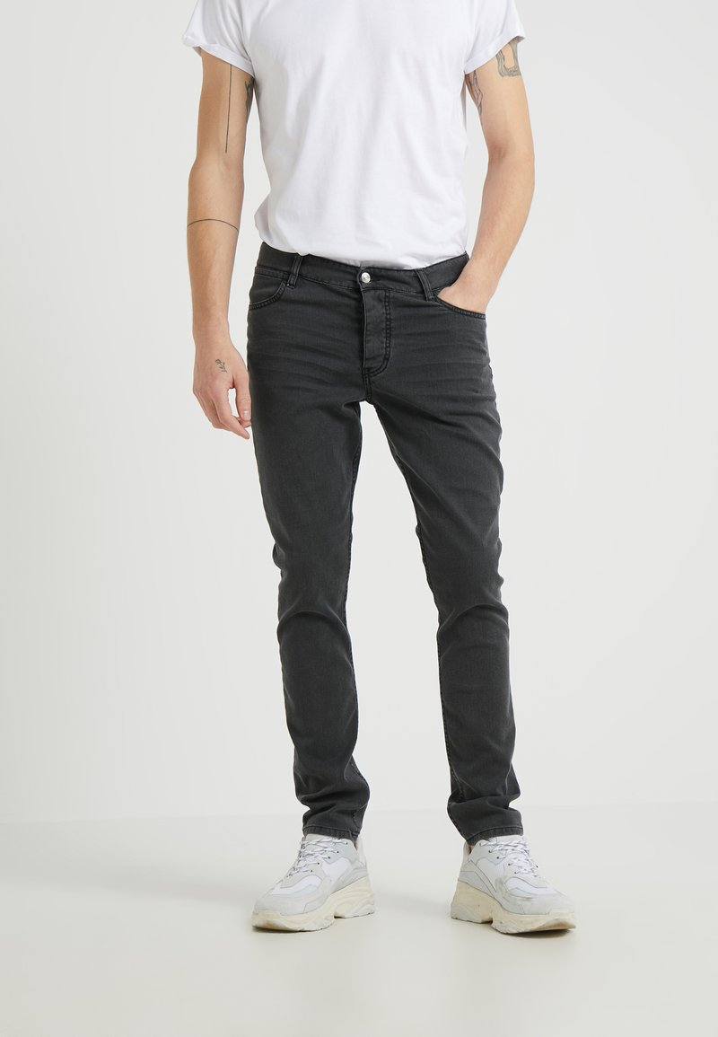 Iro - ENZO - Jeansy Slim Fit - black