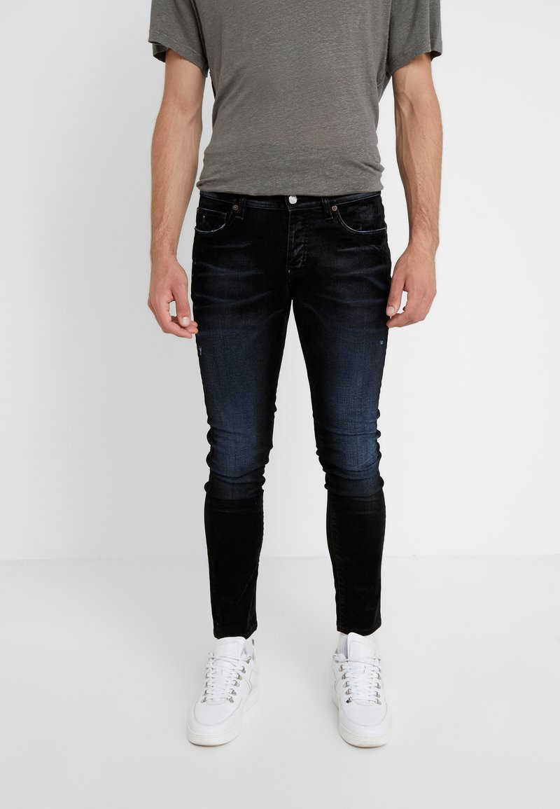 Iro - JORYI - Jeans Skinny Fit - black/dark navy