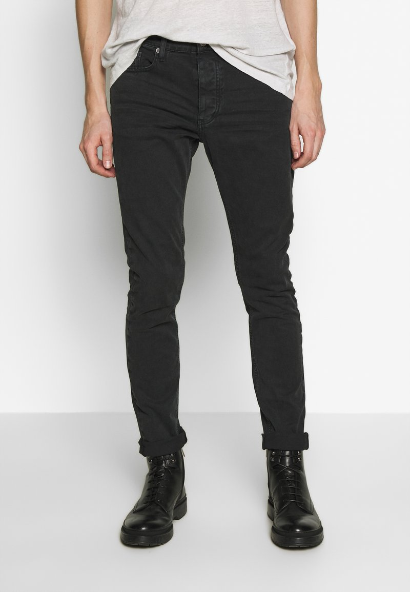 Iro - PLACIDE - Slim fit jeans - black stone