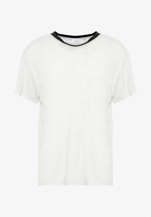 DRAYTON - Jednoduché triko - grey white