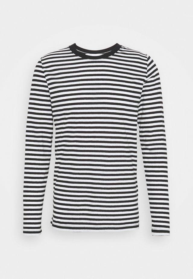 TYBO - Langærmede T-shirts - black/white