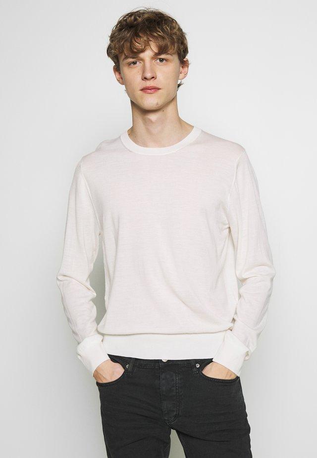 ARNO - Stickad tröja - ecru