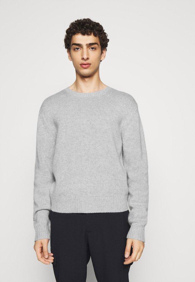 RICK - Stickad tröja - mixed grey
