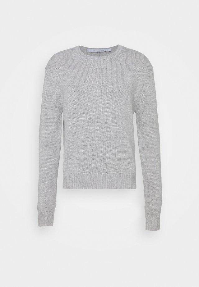 RICK - Trui - mixed grey