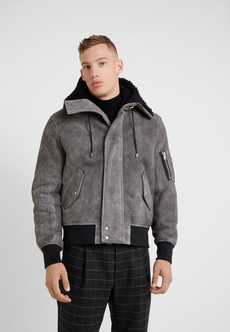 Iro - MODAR - Skinnjakke - dark grey/black