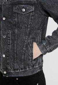Iro - KUTA - Džínová bunda - dark grey - 6
