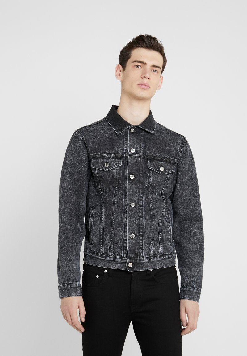 Iro - KUTA - Džínová bunda - dark grey