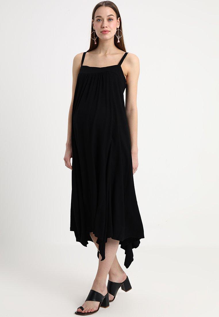 ISABELLA OLIVER - CAREY DRESS - Maxikjoler - caviar black