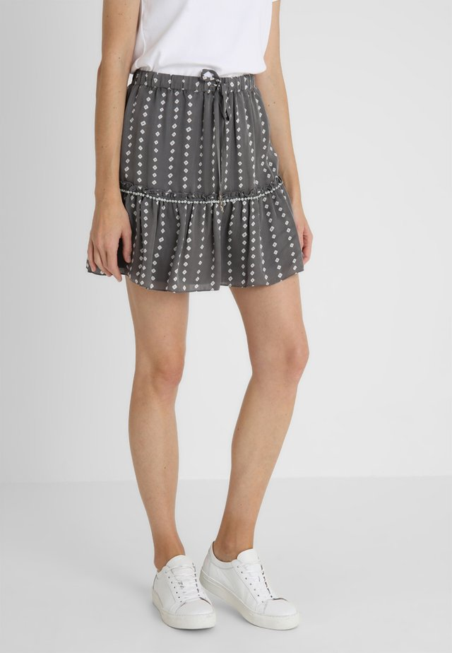SKIRT - A-lijn rok - grey