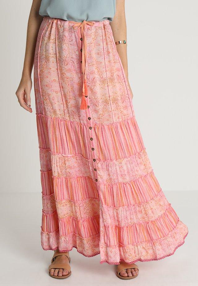 SKIRT - Maxi skirt - rose