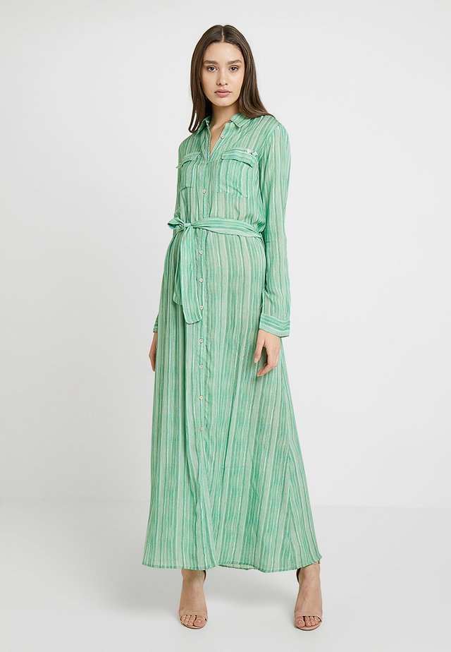 DRESS - Maxi-jurk - green