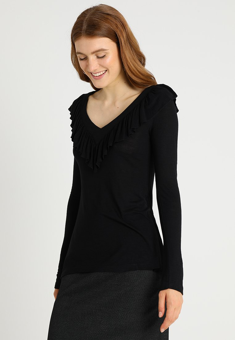 Isla Ibiza Bonita - Langærmede T-shirts - black