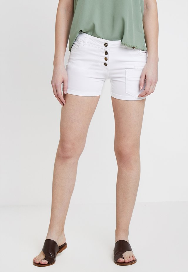 Jeans Shorts - white
