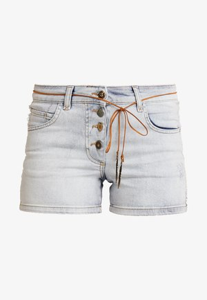 Denim shorts - denim blue