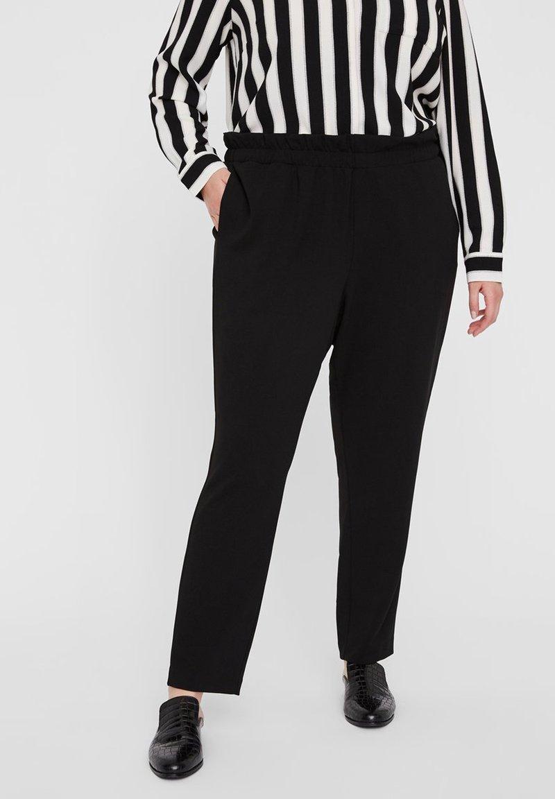 I.scenery - Spodnie materiałowe - black