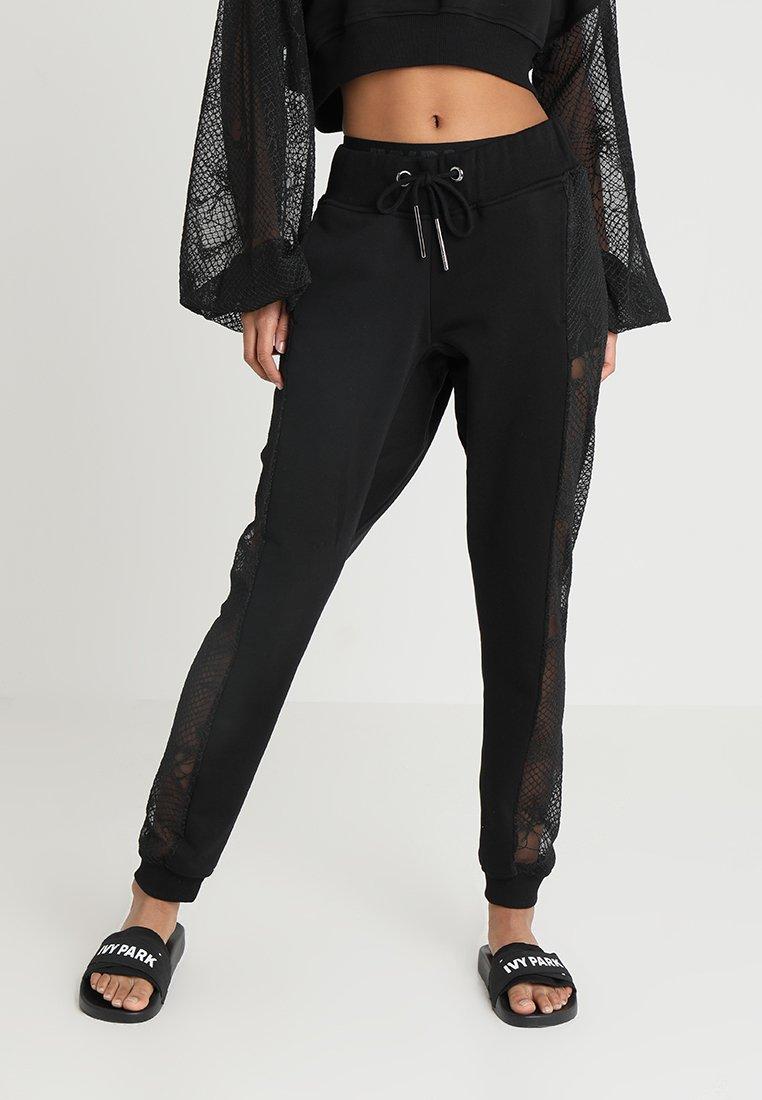 Ivy Park - JOGGERS - Pantaloni sportivi - black
