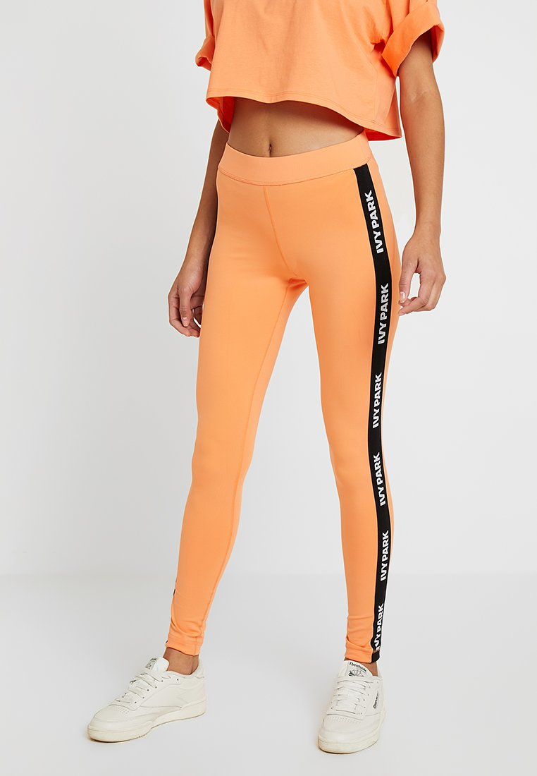Ivy Park - ACTIVE LOGO ELASTIC TAPE - Leggings - melon
