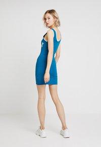 Ivy Park - BASEBALL LOGO BODYCON DRESS - Jerseyjurk - moroccan blue - 2