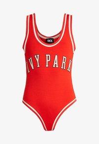 Ivy Park - BASEBALL LOGO BODY - Débardeur - fiery red - 3