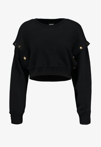 Ivy Park - ARMOUR POPPERS CROP - Sweatshirt - black - 4