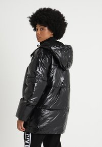 Ivy Park - METALLIC PUFFER - Winter coat - black - 2