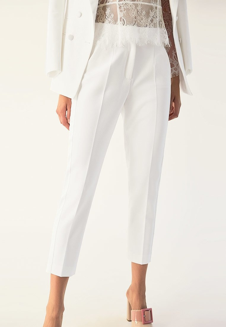 IVY & OAK BRIDAL - Trousers - snow white