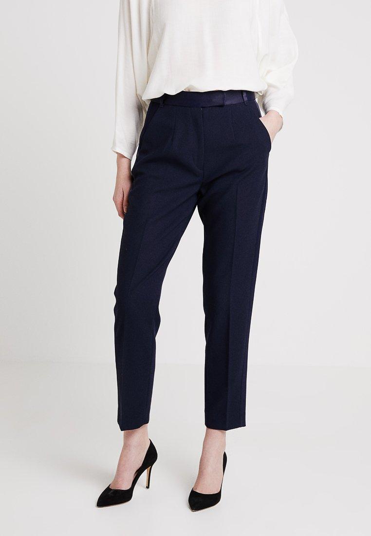 IVY & OAK BRIDAL - Pantaloni - navy blue