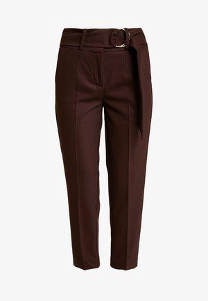 Pantalones - dark chocolate