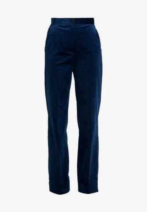 FLARED PANTS - Trousers - blue haze