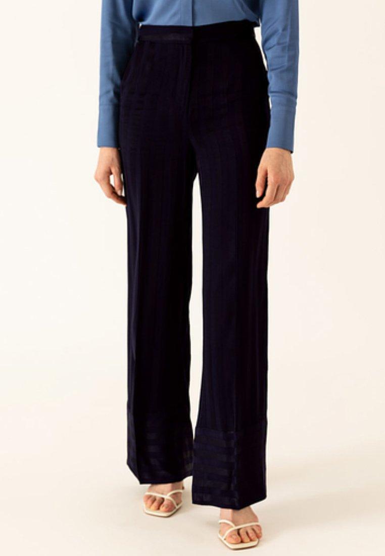 IVY & OAK - Pantalon classique - true blue