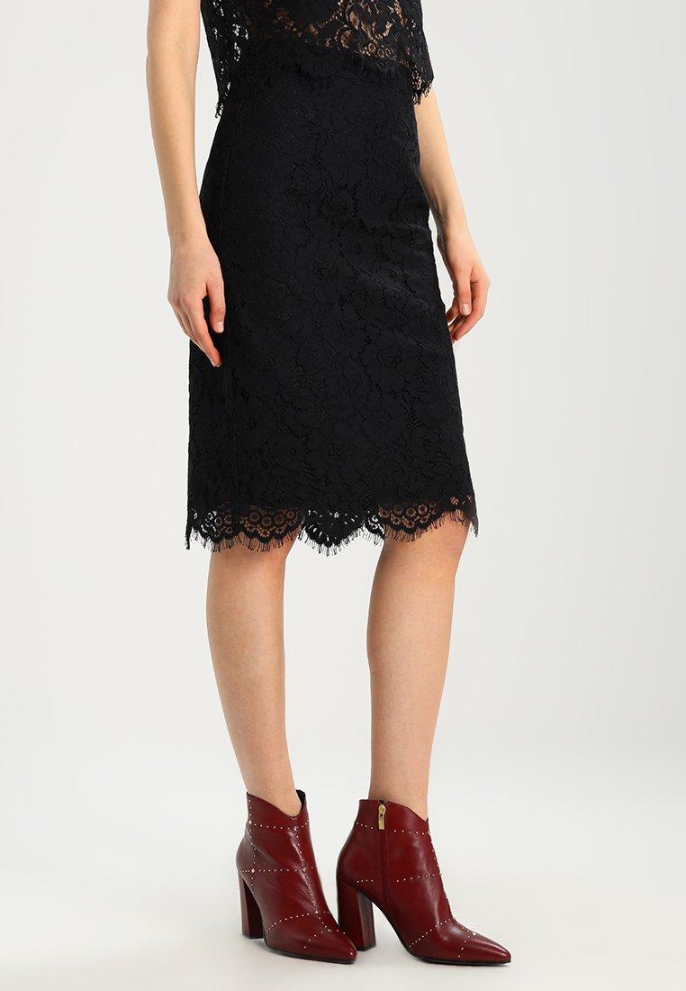 IVY & OAK - PENCIL SKIRT - Pencil skirt - black
