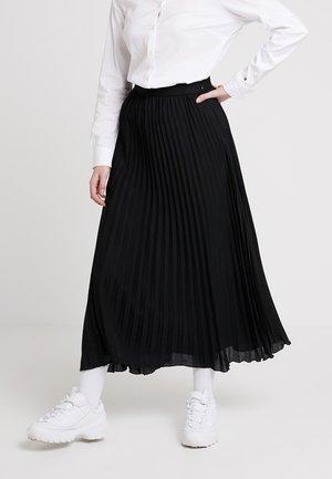 PLISSÉE SKIRT - Jupe plissée - black