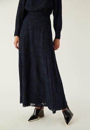 Maxi skirt - navy blue