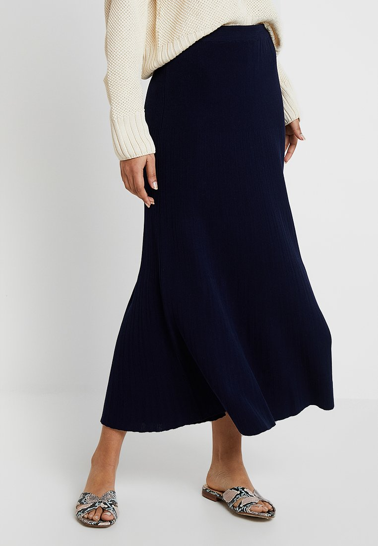 IVY & OAK - Maxi skirt - true blue