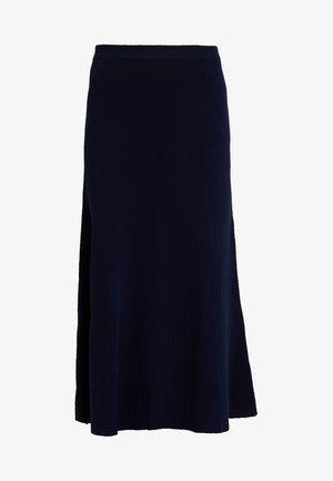 Długa spódnica - true blue