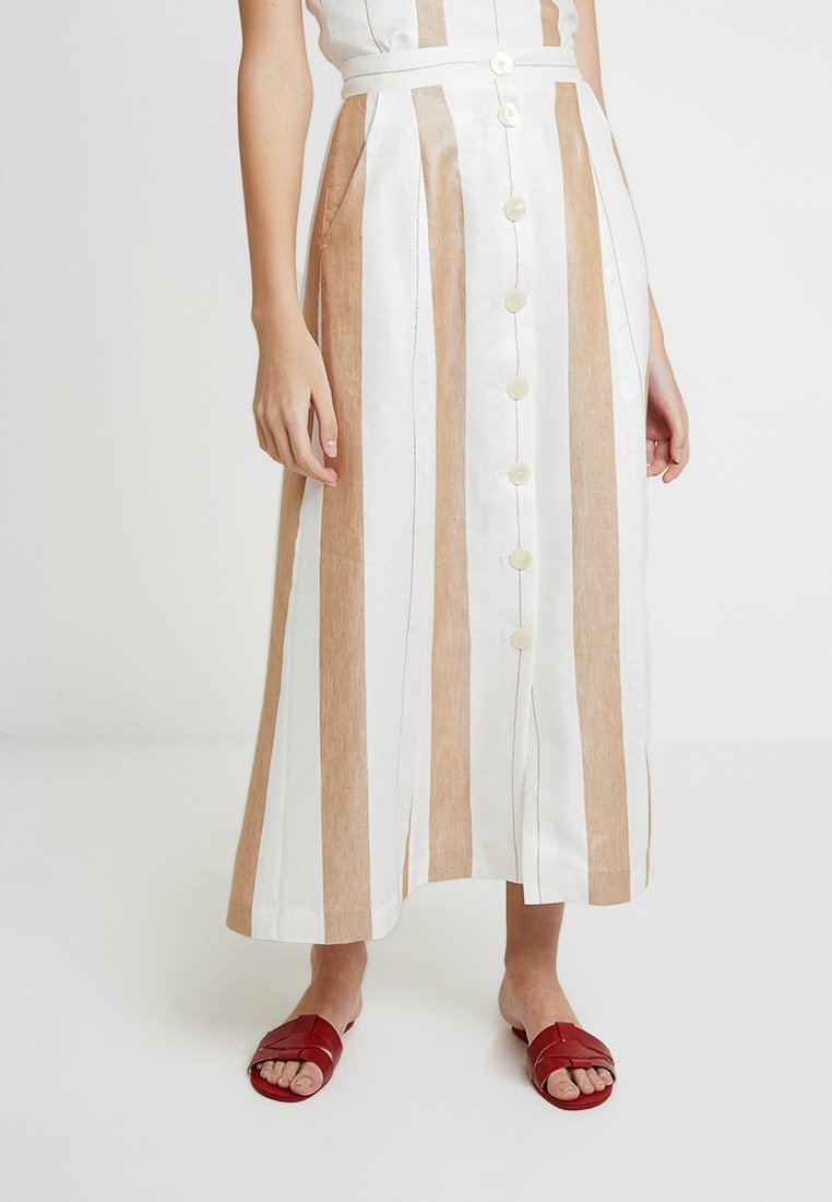 IVY & OAK - Maxi skirt - beige