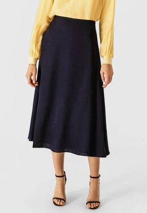 Spódnica plisowana - navy blue