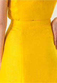 IVY & OAK - A-line skirt - sun yellow - 3