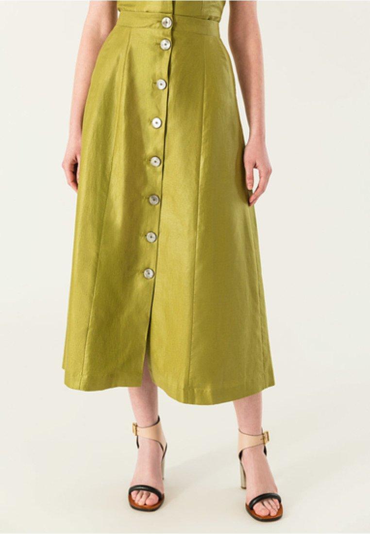 IVY & OAK - A-line skirt - green