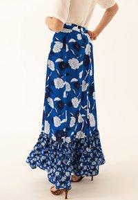 IVY & OAK - BOHEMIAN SKIRT - Jupe longue - brilliant blue - 5