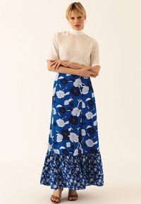 IVY & OAK - BOHEMIAN SKIRT - Jupe longue - brilliant blue - 1
