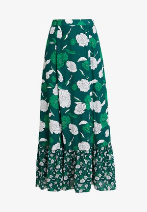 BOHEMIAN SKIRT - Maxi sukně - evergreen