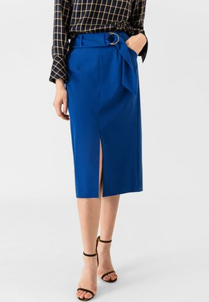 Jupe crayon - brilliant blue