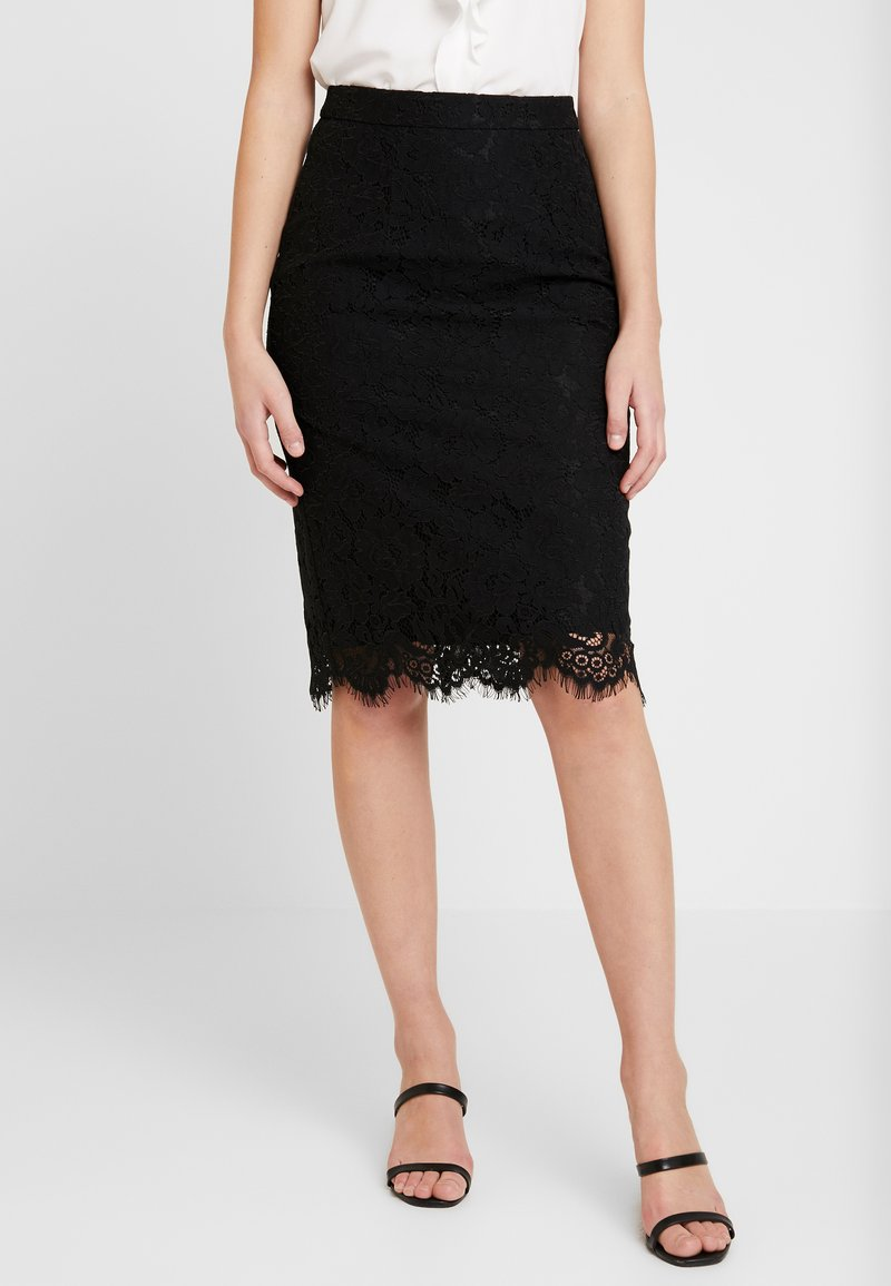 IVY & OAK - PENCIL SKIRT REPEAT - Pencil skirt - black