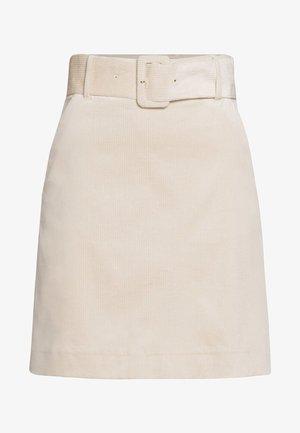 SKIRT - A-snit nederdel/ A-formede nederdele - beige