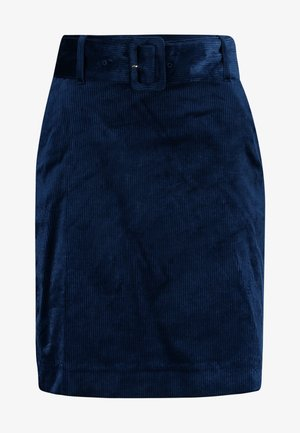 SKIRT - Jupe trapèze - blue haze